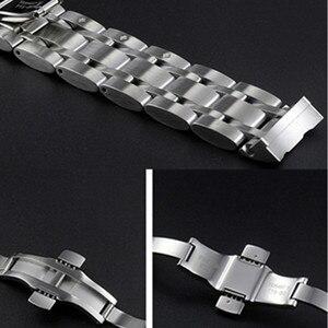 Image 5 - 22 مللي متر 23 مللي متر 24 مللي متر ل T035617 T035439 جديد مشاهدة أجزاء الذكور الصلبة الفولاذ المقاوم للصدأ سوار للساعة أشرطة ساعات يد ل T035