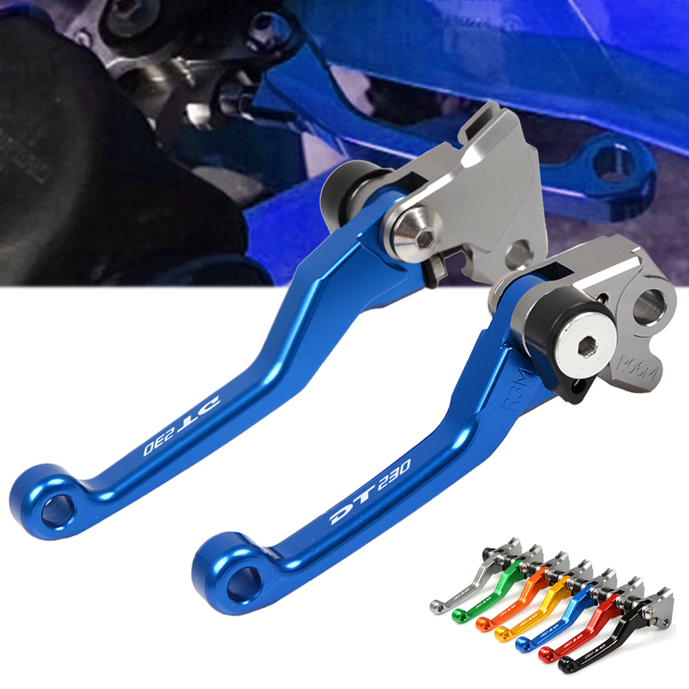 Accessories CNC Pivot Brake Clutch Levers for <font><b>YAMAHA</b></font> DT230LANZA <font><b>DT</b></font> 230LANZA <font><b>DT</b></font> 230 LANZA 1997 Motorbikes Dirt Bikes Pivot Levers image