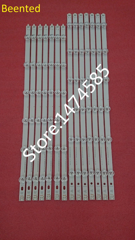 все цены на New original 14 PCS/set LED backlight strip bar LZ55O1LCEPWA A B for LG 55 inch TV 55LN5400 55LN5200 INNOTEK POLA2.0 55 R L type онлайн
