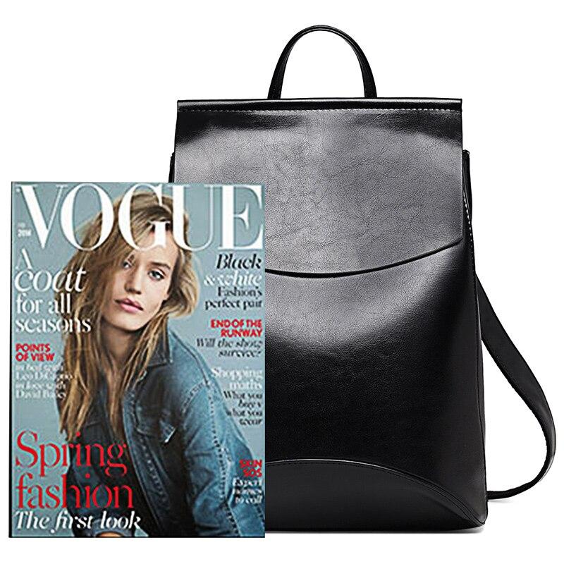 New Fashion Women Backpack Youth Vintage Leather Backpacks for Teenage Girls New Female School Bag Bagpack mochila sac a dos