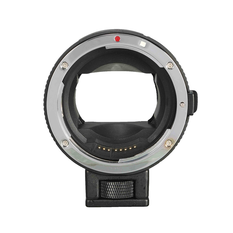 For Focus Adapter for Canon EOS EF mount lens to for Sony NEX A7 A7R NEX-6 Digital Camera Lens Mount Adapter auto mount adapter ef nex for canon eos ef mount lens to sony nex series e mount camera with 1 4 tripod socket