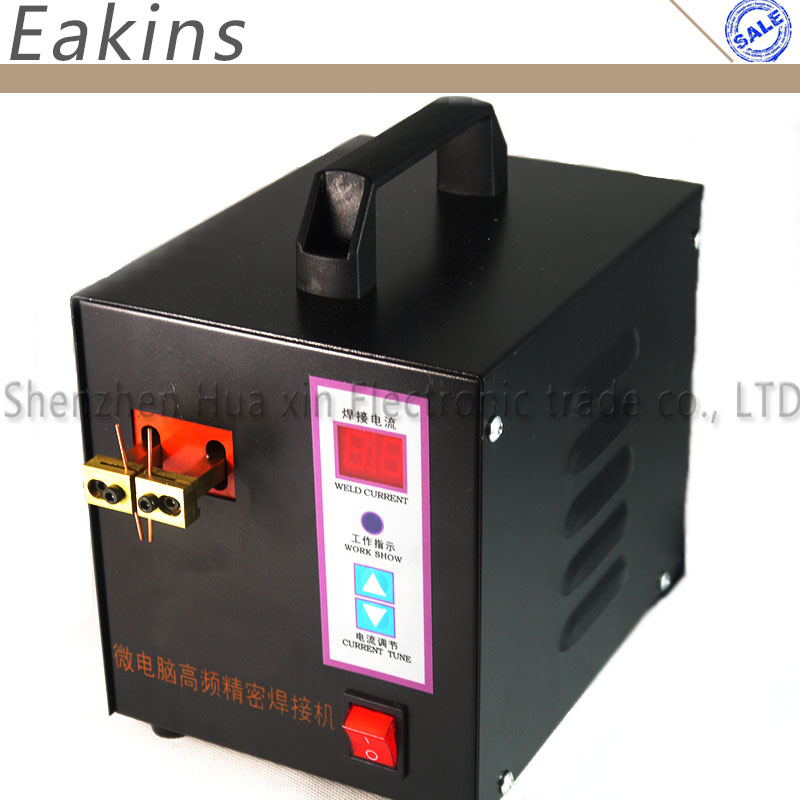 microcomputer control spot welding high-power spot welder battery welding machine 18650 16430 14500 Battery Pack Spot Welding 1 9kw sunkko led pulse battery spot welder 709a soldering iron station spot welding machine 18650 16430 14500 battery 220v 110v
