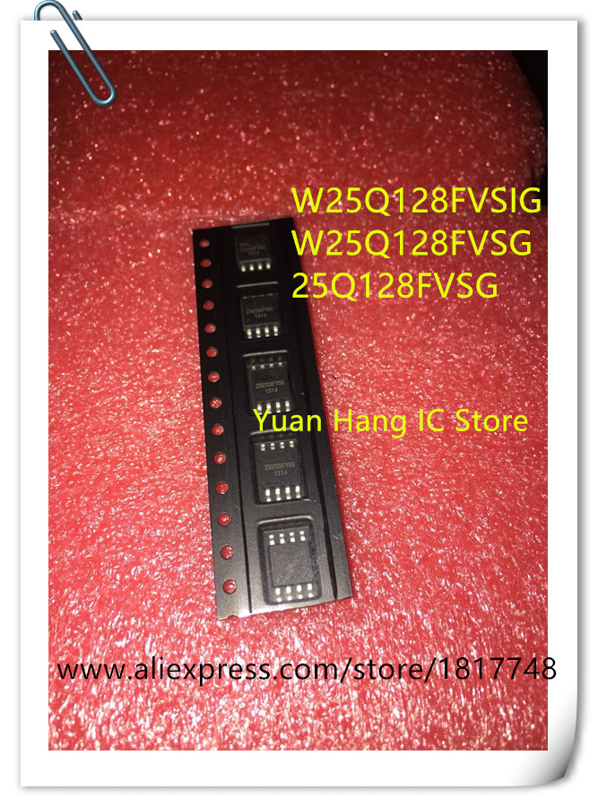 US $4 99 |5PCS/LOT W25Q128FVSSIG W25Q128FVSG W25Q128FVSIG W25Q128 WINBOND  SOP 8 16M flash 128Mbit-in Battery Accessories & Charger Accessories from