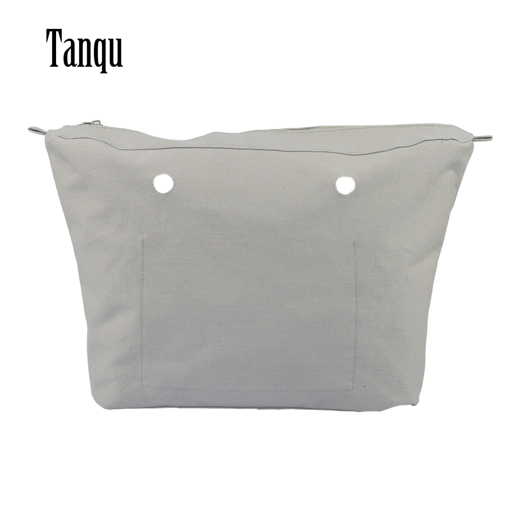 2019 TANQU New Waterproof Inner Lining Insert Zipper Pocket For Obag Urban For O Bag Urban Women Bag