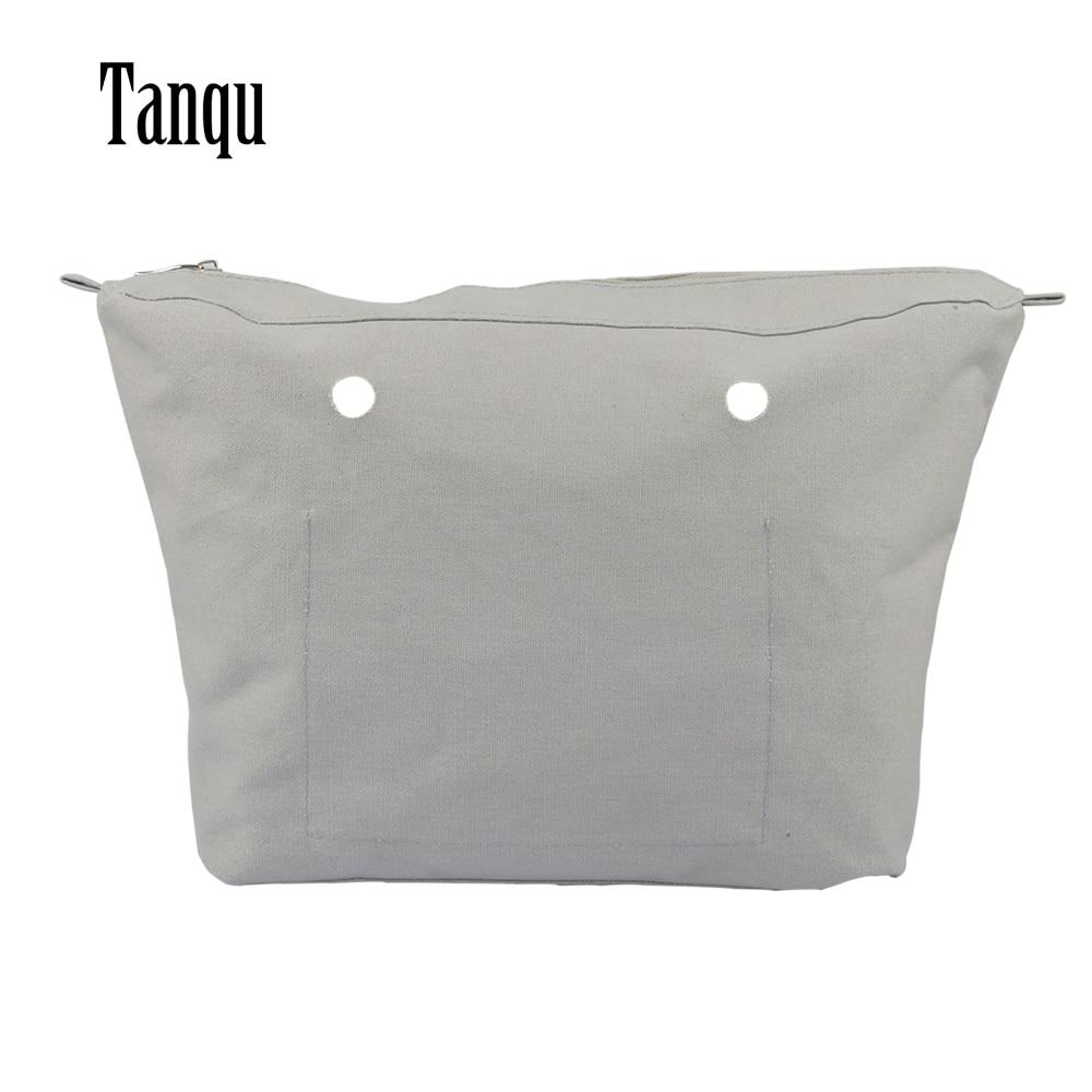 2019 TANQU New Waterproof Inner Lining Insert Zipper Pocket For Obag Urban For O Bag Urban Women Bag