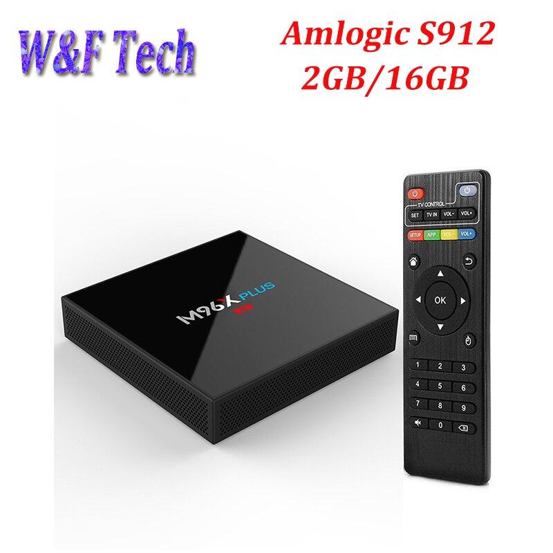 M96X PLUS Smart TV Box 2GB 16GB Adroid 7 1 S912 Octa Core Media Player 2