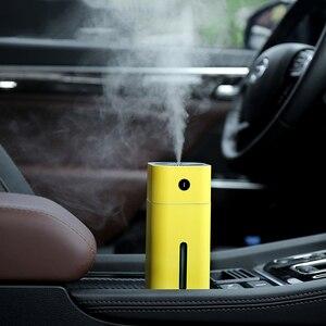 Image 5 - GIAHOL 180ml Mini humidificateur dair à ultrasons portable USB Super muet diffuseur darôme voiture maison assainisseur dair avec veilleuse LED