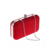 Velour Evening Bags Europe United States Popular Mini Dinner Bag Mobile Phone Special Female Handbags Velvet