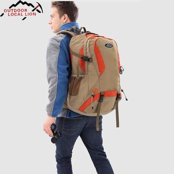 New Outdoor Sports Bag 40L Mountaineering Backpack Functional Men Women Bag Bolsas Femininas Hiking traveling Bag