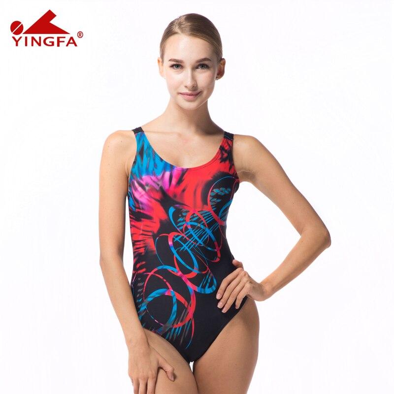 Yingfa  NUEVO profesional de trajes de baño traje de baño femenino de deportes d