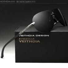 VEITHDIA Aluminum Magnesium Goggles Men's Sunglasses Polarized Lens Sun Glasses Driving/Fishing Male Eyewears shades For Men