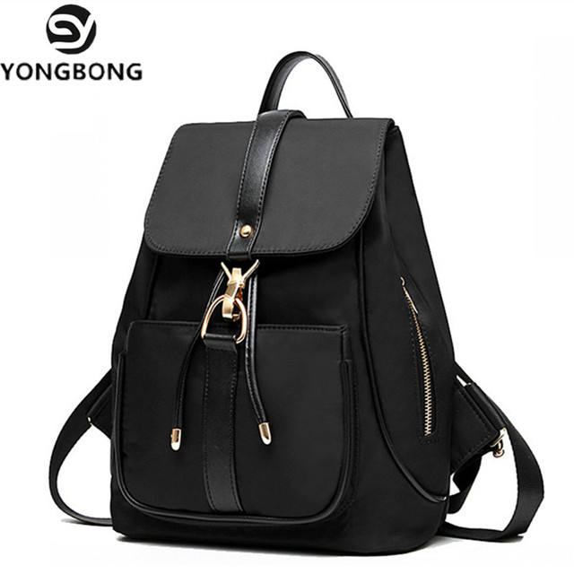 2bd71d7ff83f YONGBONG String Vintage Canvas New Style Oxford School Bags High Retro  Backpack Women Ofertas Famous Designer Brand Backpacks