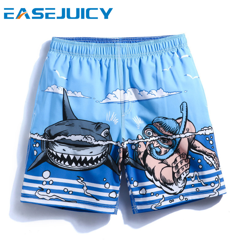 Men's bathing suit solid swimming suit board shorts plavky surf beach shorts sungs praia masculie sexy liner swimsuit mesh