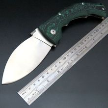 Hot Recommended EDC Tool Cold steel folding knife Outdoor survival Hunting knives Mikata handle Wide blade Pocket knife