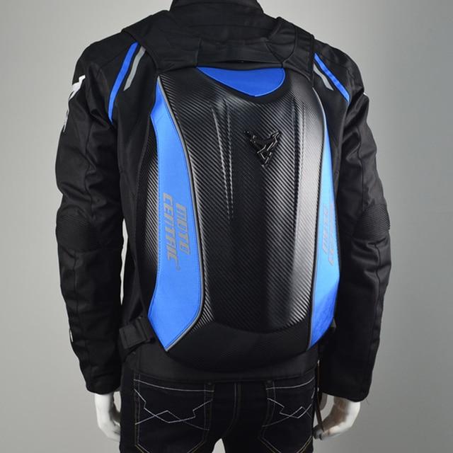 Nova moto gp mochila saco mochila motocicleta cavaleiro de equitação da motocicleta mochila de fibra de carbono para KTM para Kawasaki bagpack