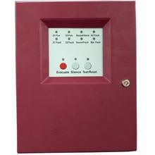 Панель управления пожарной сигнализации с 2 зонами, Входная мощность переменного тока, система управления пожарной сигнализацией, стандартная панель управления пожарной сигнализацией