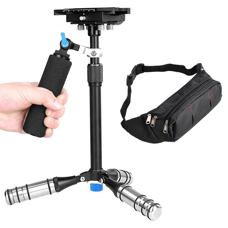 For Camera Handheld steadycam Scalable Carbon Fiber mini for Steadicam Canon DSLR Video Camera Better than S60T S60 ashanks mini carbon fiber handheld