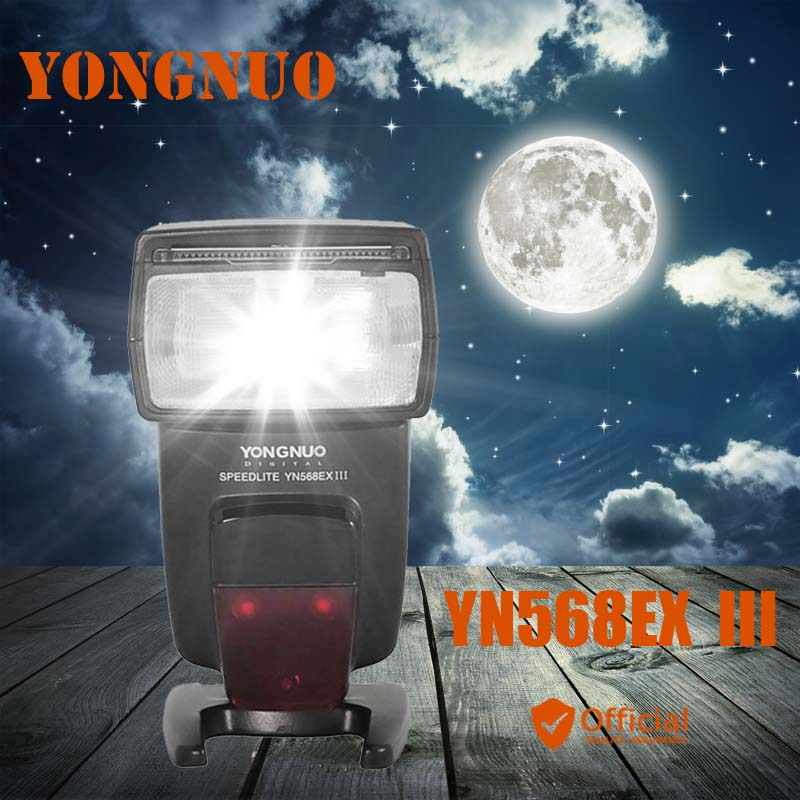 YONGNUO YN568EX III Wireless TTL Sync 1/8000s HSS Flash Speedlite for Canon 1DX 1DS 5D MARK III IV 70D 80D 7D 6D 700D 750D 3pcs yongnuo yn600ex rt auto ttl hss flash speedlite yn e3 rt controller for canon 5d3 5d2 7d mark ii 6d 70d 60d