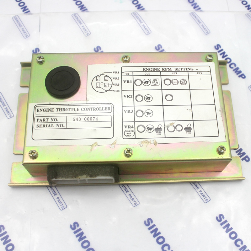 S225LC V DH225 7 drive panel 543 00074 for Daewoo excavator throttle controller