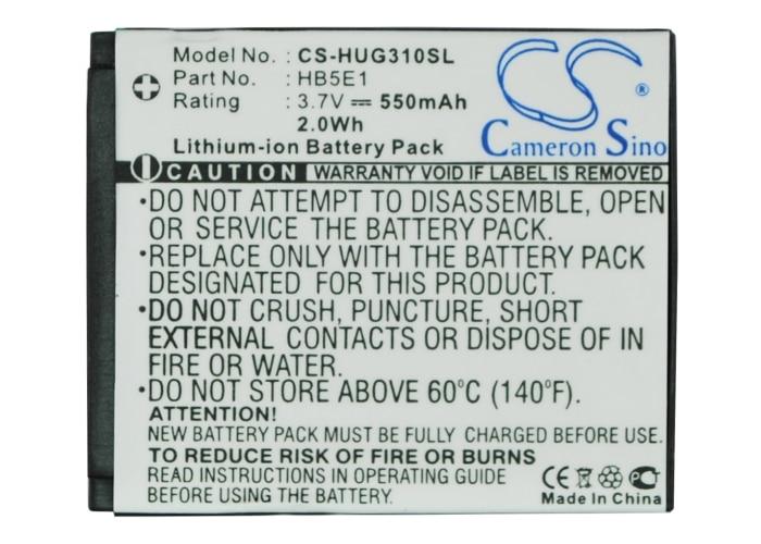 Cameron Sino High Quality 550mAh Battery HB5E1 for Huawei