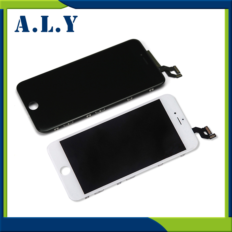 ФОТО 10PCS/LOT A grade No dead pixel LCD Screen for iPhone 6S Plus LCD display digitizer touch Screen Assembly Free Shipping by DHL