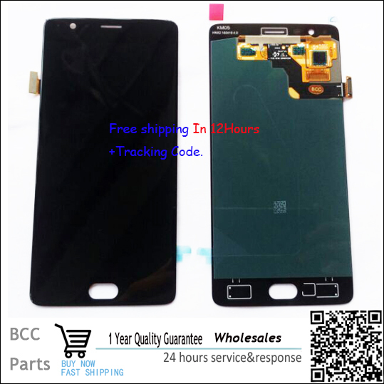 For Oneplus three Full LCD DIsplay+Touch Screen Digitizer For Oneplus 3 1+ 3 a3000 1.4cm a3003 1.2cm Original New ,100% Test Ok
