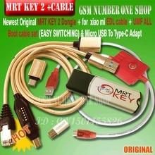 Новейший ключ MRT 2 Dongle+ для GPG xiao mi кабель edl+ UMF все кабель запуска набор(легко переключение) и mi cro USB к type-C адаптировать