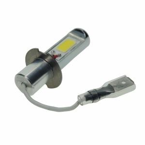 Image 3 - 2PCS Super Bright H3 LED Fog Light Bulb Yellow White 2000 Lumens 3000K 6500K LED COB Auto Car LED Fog Lamp Replacement 12V 24V