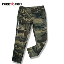 Women Pants Spring Jeans And Capri Cotton Spandex Military C