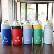 Studio Ghibli My Neighbor Totoro – Cute Totoro Stainless Steel Thermos Cup Bottle 300ml/400ml