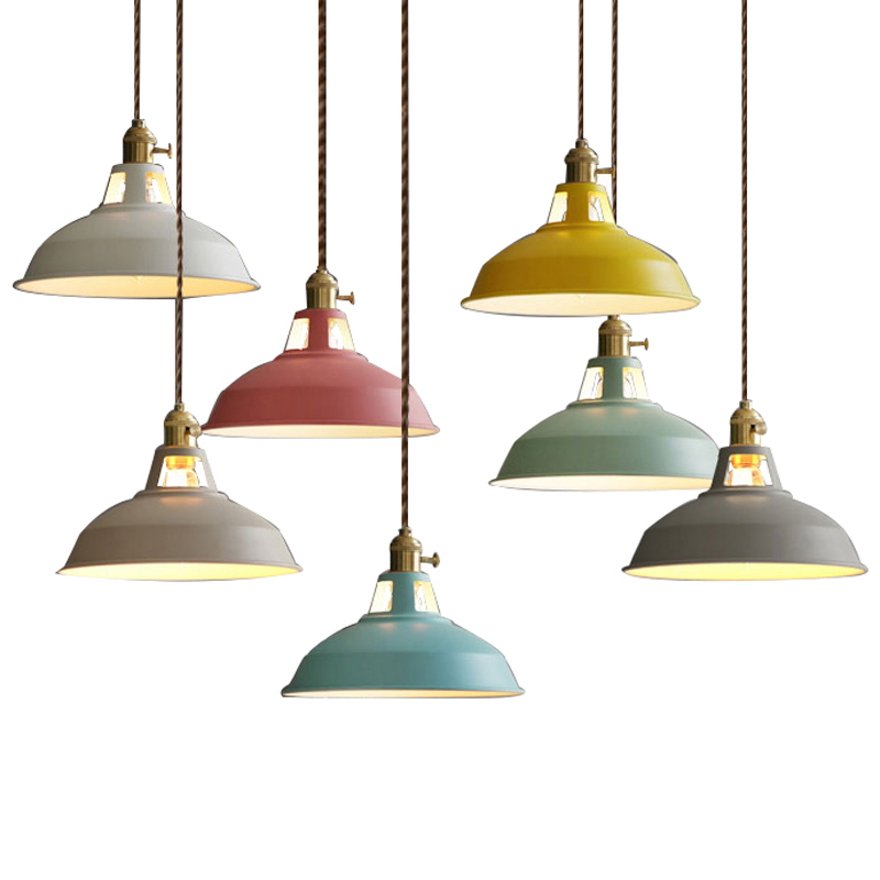 LED Pendant Lights Vintage Industrial Loft Pendant Lamp Luminaire Dining Room Home Lighting Fixtures Hanglamp Retro indoor E27 iwhd loft style creative retro wheels droplight edison industrial vintage pendant light fixtures iron led hanging lamp lighting