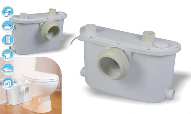110v 60hz smart macerator pump toilet in mainland