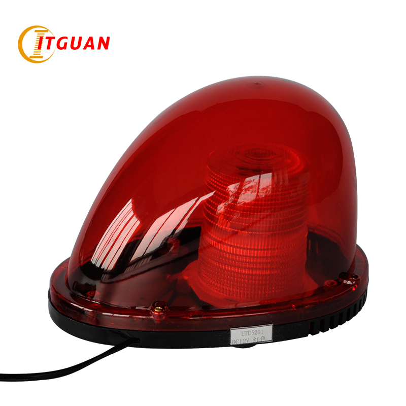LTD vehicle warning light DC24V 5W LED warning light magnetic strobe industrial warning light Blue amber Red ltd 5092 warning light police car led warning light round 5w strobe red blue flashing factory dc12v dc24v