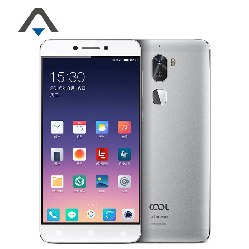 "Original Letv Leeco Cool1 Octa Core Android 6.0 OS 5.5"" 3GB RAM 32GB ROM Dual Back Cameras 13.0MP LTE 4G Fingerprint Smartphone"
