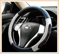 HOT SALE  Genuine leather Car Steering Wheel Covers Fit  for Nissan Tiida/Sylphy/X-Trail/Teana/Qashqai/Livina/Murano/sunny