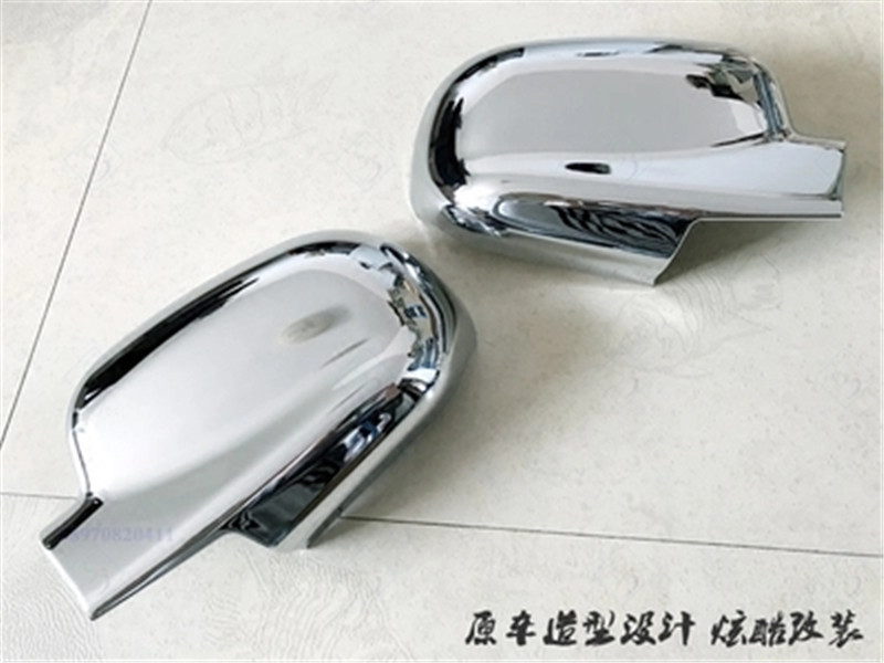 ABS Chrome Rearview mirror cover Trim/Rearview mirror Decoration For 2006-2012 Hyundai Santa Fe ix45 Car stylingABS Chrome Rearview mirror cover Trim/Rearview mirror Decoration For 2006-2012 Hyundai Santa Fe ix45 Car styling