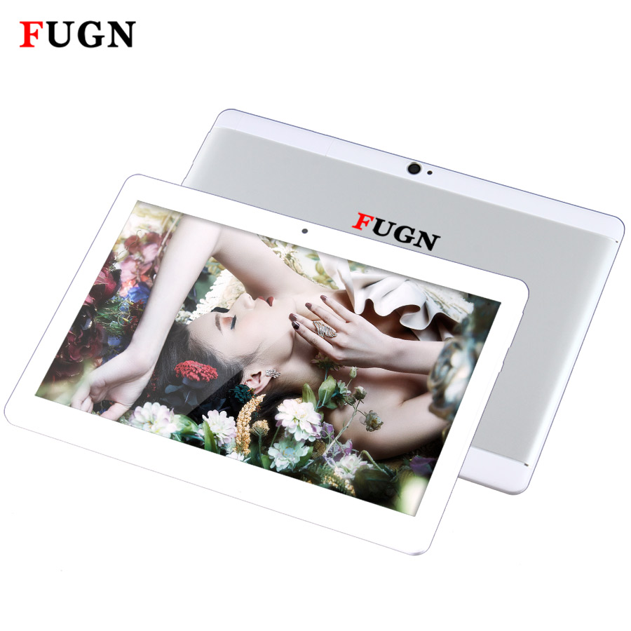 FUGN Original Tablet Dual 3G Phone Call Tablet PC 10 inch IPS Android 6.0 Octa Core Wifi Smart Tablets 4GB RAM 64GB Drawing Pad newest 10 1 inch 2 5d glass screen tablet pc octa core android 7 0 call ram 4gb rom 32gb 64gb tablets pcs smart phone pad gift