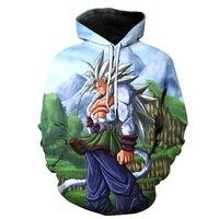 Anime Dragon Ball Z Costumi Cosplay Uomini/donne Hoodies 3d Personaggi Dei Cartoni Animati Stampati Casual dbz Felpe Abbigliamento FAI DA TE R3051