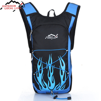 Outdoor Backpack Running Cambing Cycling Climbing Hiking Backpack Bicycle Bag Lightweight Portable Sports Bag Travel Rucksack