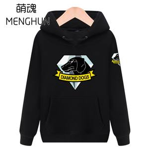 MENGHUN METAL GEAR Solid dogs TV game men s hoodies costume ab9e0dfbc