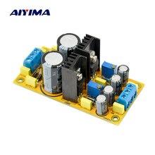 AIYIMA LM317 + LM337 DC regulowana moc płyta zasilająca AC DC podwójny zasilacz regulowany moduł do wzmacniacza DIY