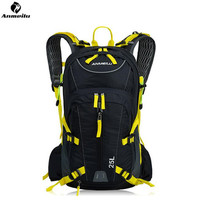 ANMEILU 25L Waterproof Sports Bag Outdoor Camping Hiking Climbing Bag Travel Cycling Backpack Hydration With Rain