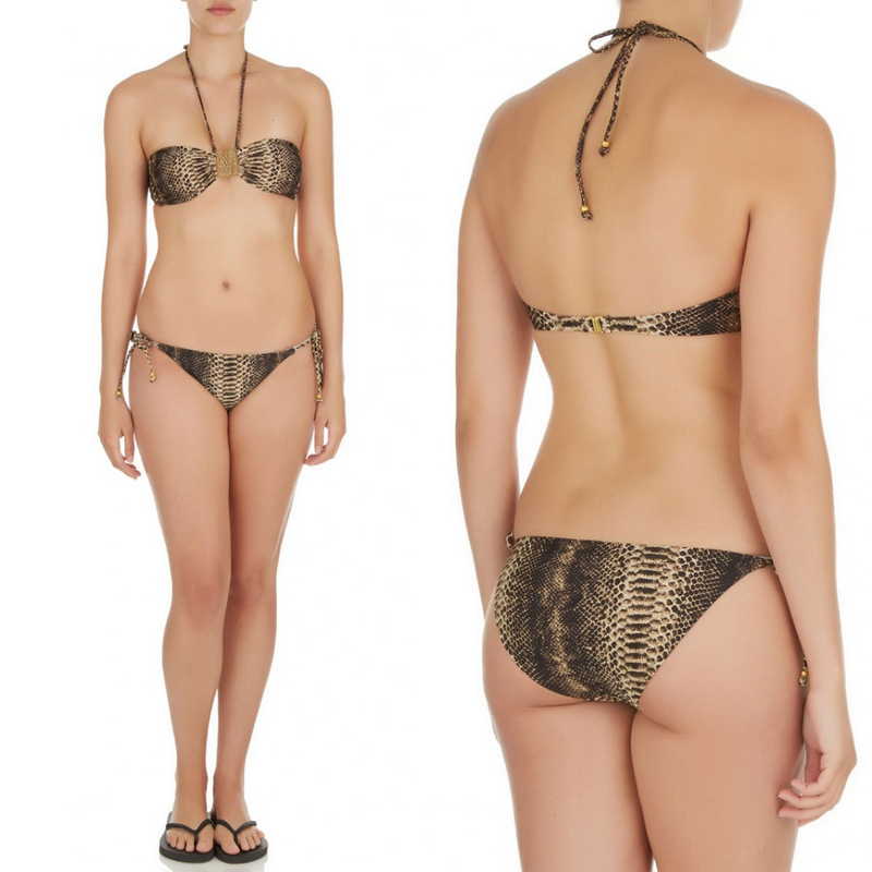 Every season Orchid Boutique's buyers attend the most important swim trade shows in the world and select the top swimsuit trends from the top swimwear designers. For our buyers considered the top trends to be: off the shoulder swimwear, macramé bikinis, swimsuits with laced sidings, tropical prints and high-neck tops.
