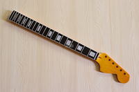 high gloss big head electric guitar neck with square shell inlay fretboard