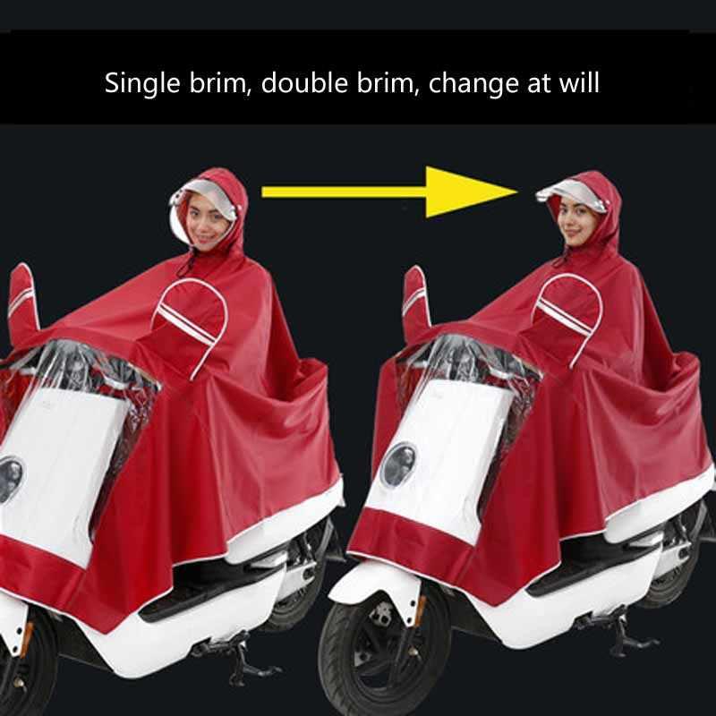 Езда племя Для мужчин Для женщин мотоциклетные дождь куртка брюки дождевик с капюшоном дождь Шестерни дышащая Водонепроницаемый ветрозащитные непромокаемые костюм комплект
