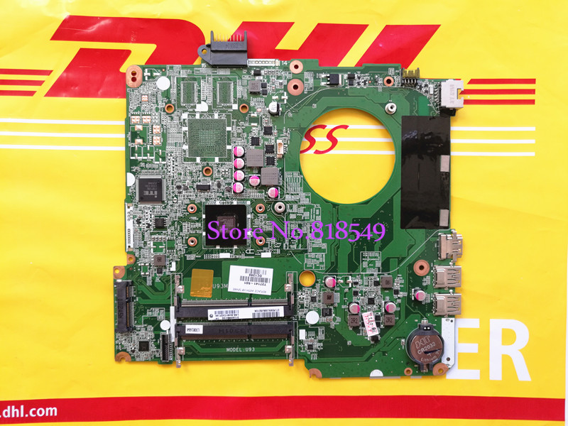 737141-501 / 737141-001 For hp PAVILION TOUCHSMART 15 15-N E1-2500 notebook motherboard DA0U93MB6D0 REV:D warranty 90 days 734826 001 laptop notebook motherboard system board 734826 501 for hp pavilion touchsmart 15 15 n a4 5000m series 100% tested
