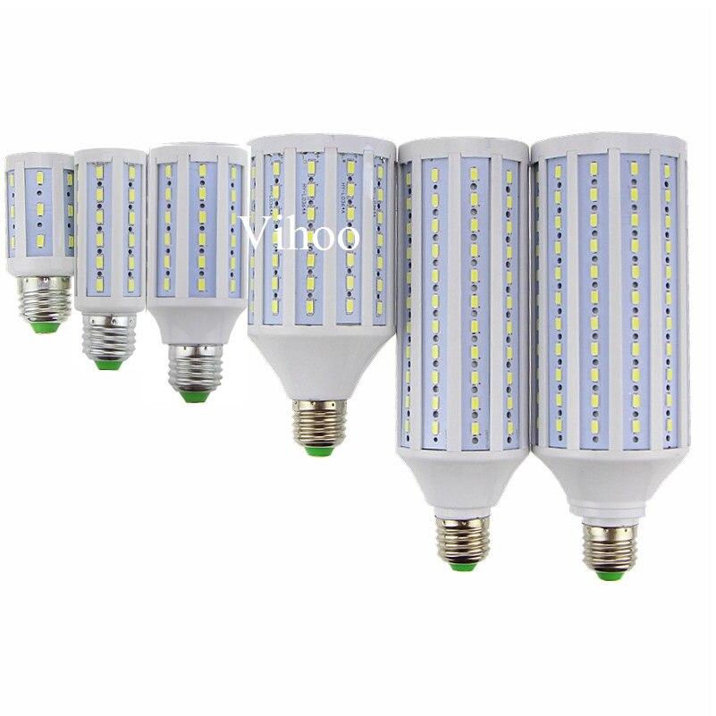 Lampada Yeni E27 B22 E40 7 W 12 W 15 W 25 W 30 W 40 W 50 W 60 W W 80 W 100 W 220 V 110 V LED mısır ampul ışık droplight aydınlatma downlight lamba