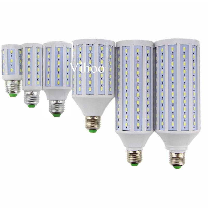 Lampada nouveau E27 B22 E40 7 W 12 W 15 W 25 W 30 W 40 W 50 W 60 W 80 W 100 W 220 V 110 V LED ampoule de maïs