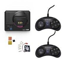 Retroflag caixa/controlador de jogo megipc, botão funcional para raspberry pi 3 b plus (3b +) /3b/2b