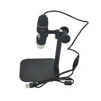 Usb mikroskop Pratik Elektronik USB 8 LED Dijital Kamera Mikroskop Endoskop Büyüteç 50X ~ 500X Büyütme Tedbir